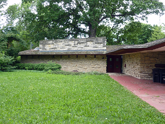 richard c smith,national register,house,usonian,east linden  street, jefferson,wi,frank lloyd wright