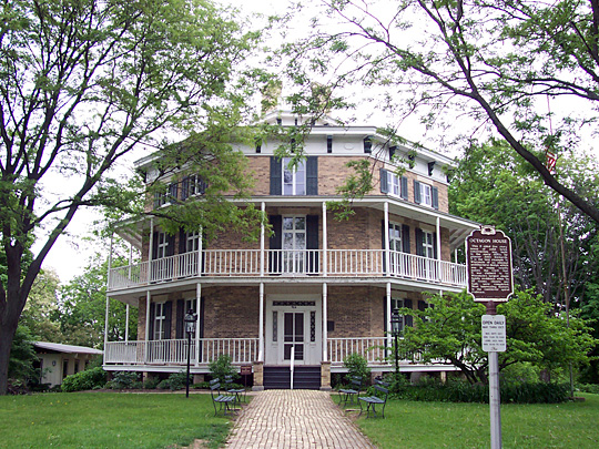 Octagon House, ca. 1853, 919 Charles Street, Watertown, WI, National Register