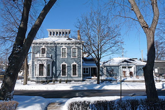 Ely Wright House, ca. 1881, 901 6th Street, Wausau, WI, National Register
