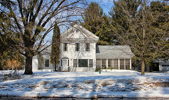 Benjamin Single House, ca. 1849 4708 Stettin Drive, Wausau, WI, National Register
