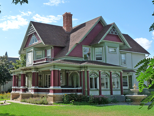 Knox/Kreutzer House, ca. 1887, Andrew Warren Historic District, Wausau, WI, National Register