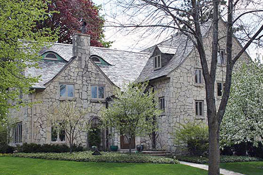 Henry A. Meyer House, ca. 1925, 3559 North Summit Avenue, Shorewood, WI, National Register
