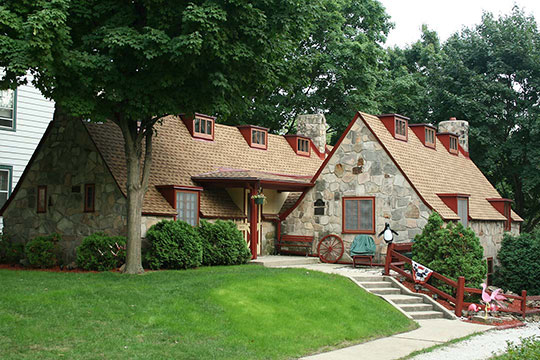 J.H. Fiebing House, ca. 1925, 7707 Stickney Avenue, Wauwatosa, WI, National Register