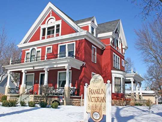 William G. and Anne Williams House, ca. 1900, 220 East Franklin Street in Sparta, WI, National Register