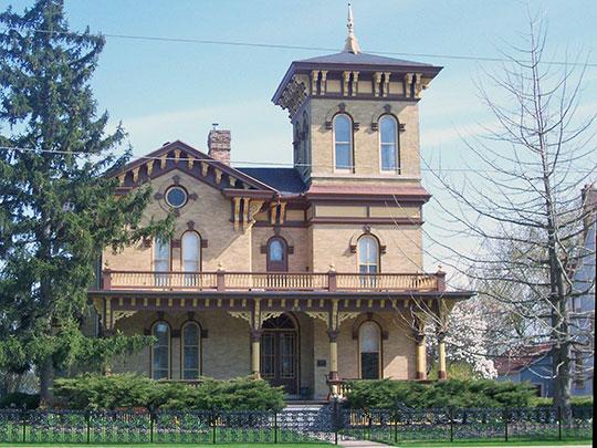 John Hart Whorton House, ca. 1870, 315 West Prospect Avenue, Appleton, WI, National Register