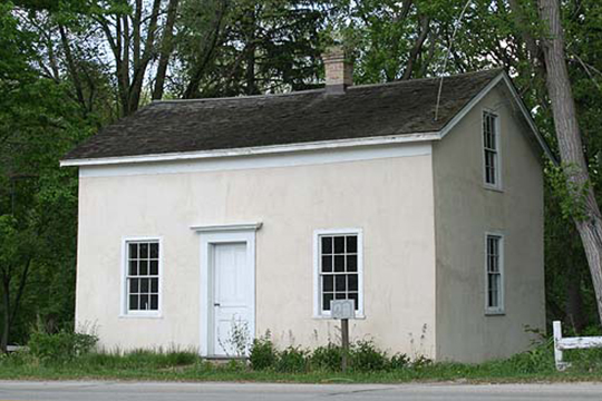 Isham Day House, ca. 1839, 11312 North Cedarburg Road, Mequon, WI, National Register