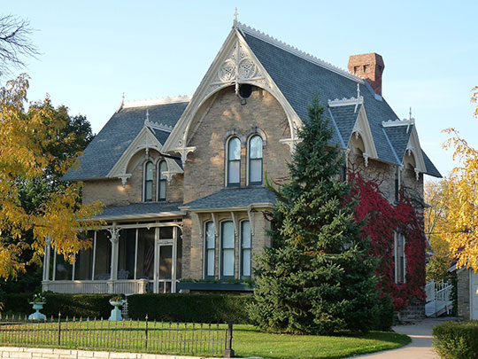 David McMillan House, ca. 1873, 1924 Pine Street, Stevens Point, WI, National Register