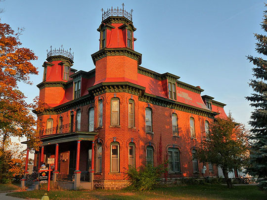Christina Kuhl House, ca. 1886, 1416 Main Street, Stevens Point, WI, National Register