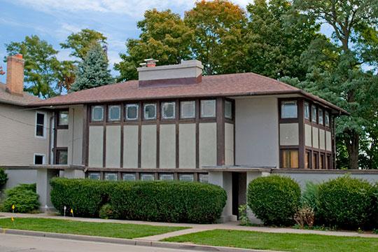 Thomas P. Hardy House, ca. 1905, 1319 South Main Street, Racine, WI, National Register