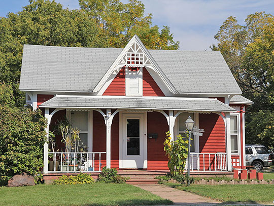 Brasstown Cottage, ca. 1880, 1701 Colley Road, Beloit, WI, National Register