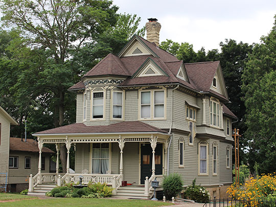 John H. Jones House, ca. 1890, 538 South Main Street, Janesville, WI, National Register