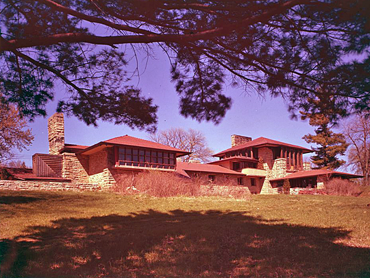 Taliesen, Frank Lloyd Wright Summer Home