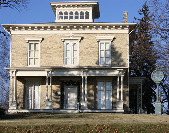 David Taylor House, ca. 1850s, 3110 Erie Avenue, Sheboygan, WI, National Register