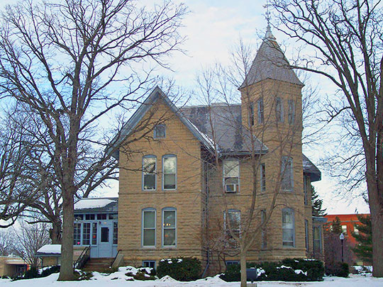 Oviatt House (Moses Hooper House), ca. 1883, 842 Algoma Boulevard, Oshkosh, WI, National Register