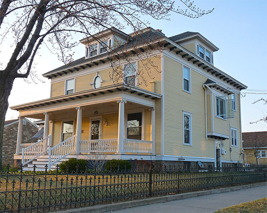 Elizabeth Daly House, ca. 1903, 201 West Arnold Street, Wisconsin Rapids, WI, National Register