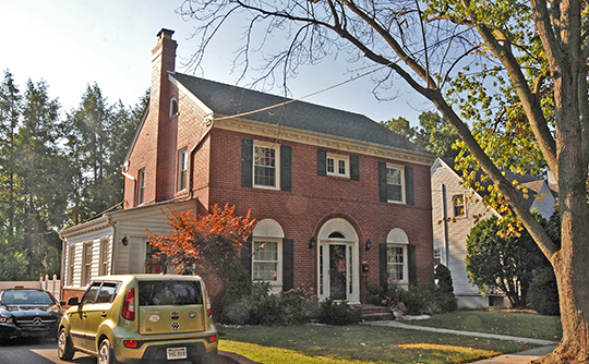 Home on North Alabama Avenue, West Martinsburg Historic District, Martinsburg, WV.