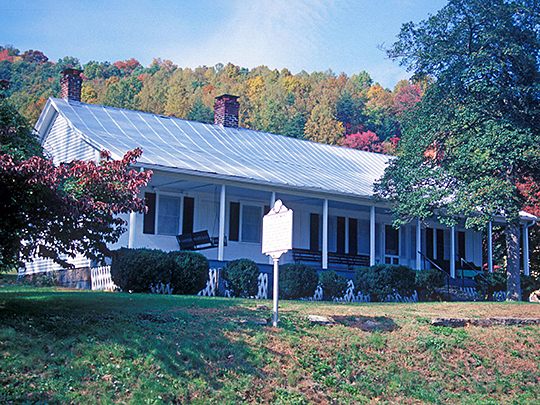 Contentment (Colonel George Imboden House), ca. 1830, Route 60, Ansted, Fayette County, WV, National Register