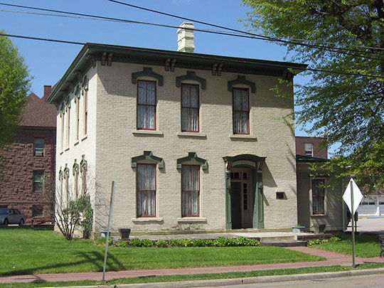 Ferrell-Holt House, ca. 1877, 609 Jefferson Avenue, Moundsville, WV, National Register