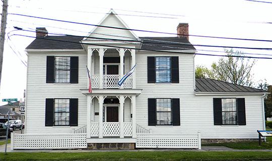 Dr. Robert B. McNutt House, ca. 1840, 1522 North Walker Street, Princeton, WV, National Register