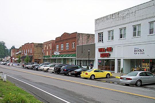 Main Street, Sophia Historic District, Sophia, West Virginia, National Register