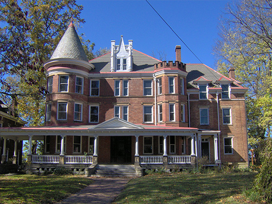 Peter G. Van Winkle House, ca. 1875, Julia-Ann Square Historic District, Parkersburg, WV