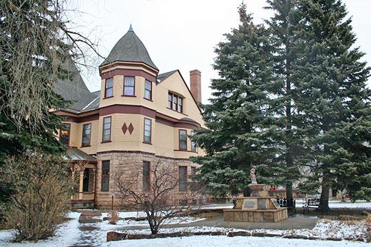 Ivinson Mansion (Laramie Plains Museum), ca. 1892, 603 Ivinson Avenue, Laramie, WY, National Register