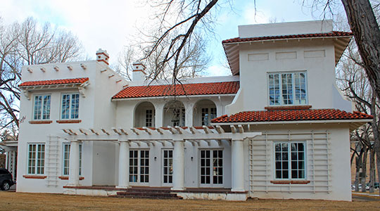 Cooper Mansion, ca. 1921, 1411 Grand Avenue, Laramie, WY, National Register