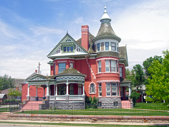george ferris mansion,national register,1900,rawlins,wy,carbon county