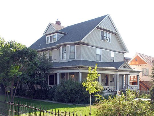 Morton Mansion, ca. 1903, 425 Center Street, Douglas, WY, National Register