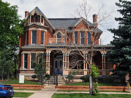 Whipple-Lacy House, ca. 1883, 300 East 17th Street, Cheyenne, WY, National Register