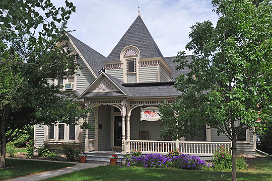 Crook House, ca. 1890, 314 East 21st Street, Cheyenne, WY, National Register