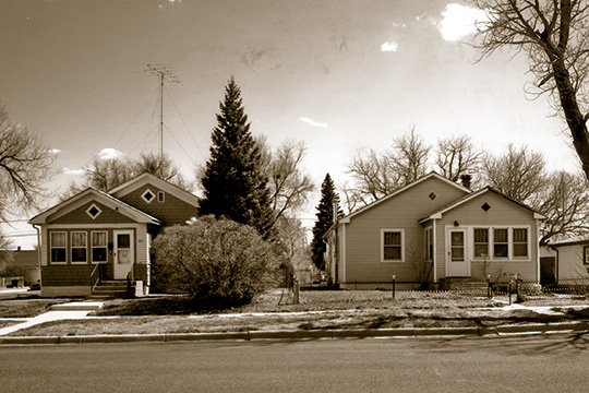 Homes in the Cheyenne South Side Historic District, Cheyenne, WY, National Register