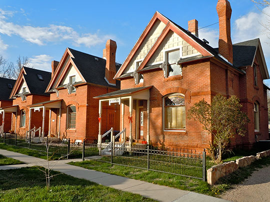Homes in the Rainsford Historic District, Cheyenne, WY, National Register