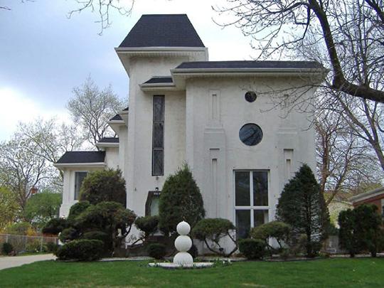 Home on Kilbourn Avenue, Sauganash Historic District, Chicago, IL