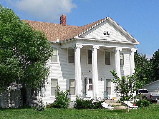 The Kinner House — in Holdrege, Phelps County, Nebraska.