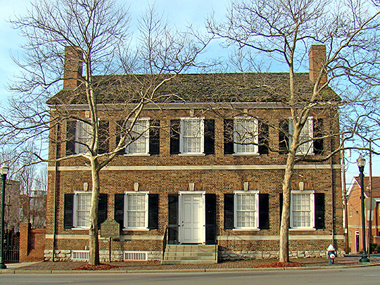 Mary Todd Lincoln Childhood Home, 578 West Main Street, Lexington, KY