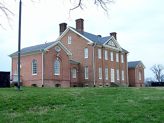 Mount Clare, 1863, Carrol Family Plantation, Baltimore, MD