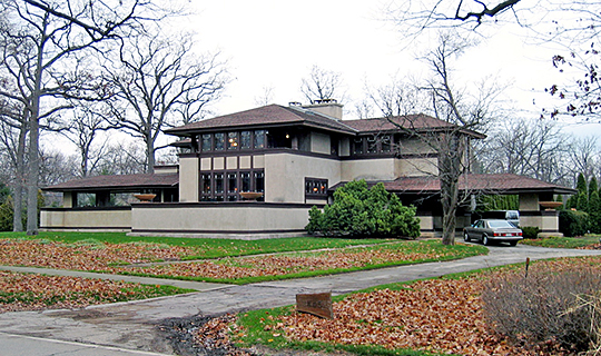 Ward Winfield Willits House, ca. 1901, 1445 Sheridan Road, Highland Park, IL