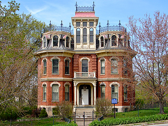 Fred B. Sharon House, Davenport Iowa, National Register