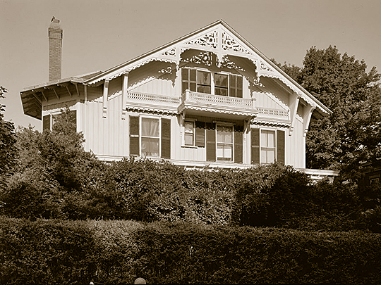The Rachel Carson House — in Colesville, Montgomery County, Maryland.
