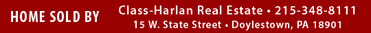 Class-Harlan Real Estate, Doylestown, PA
