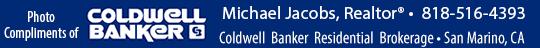 Michael Jacobs Realtor, Coldwell Banker, Pasadena, Ca 818-516-4393