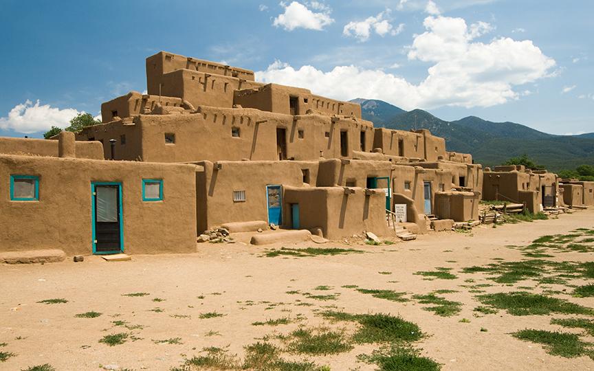 Pueblo in Taos New Mexico