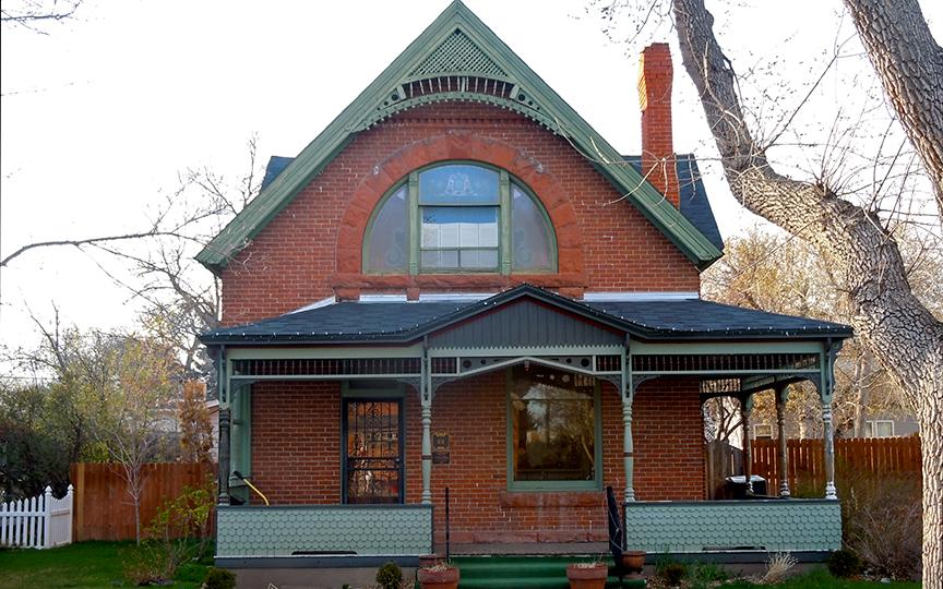 Smith House, 414 Evans Street, Cheyenne, WY