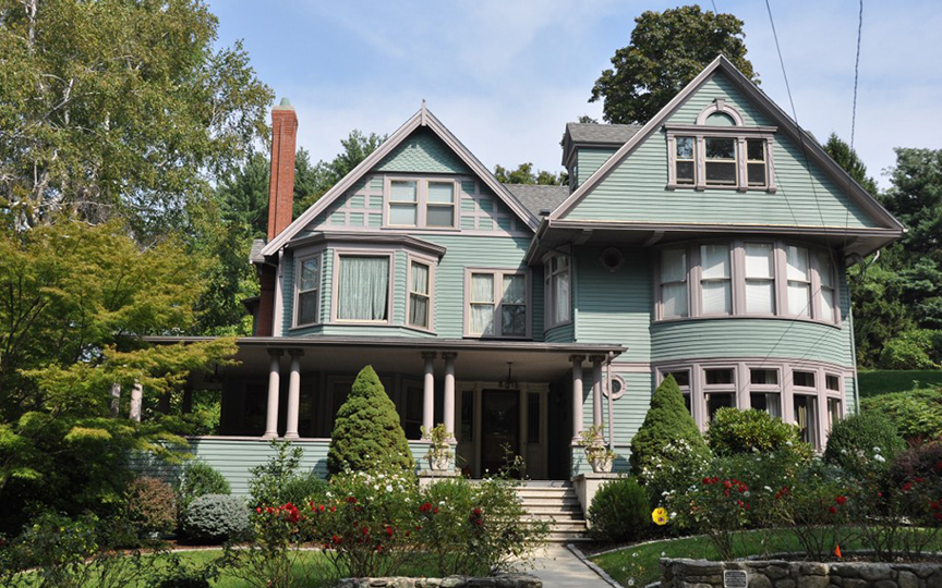 Fred B. Sharon House, Davenport Iowa, National Register