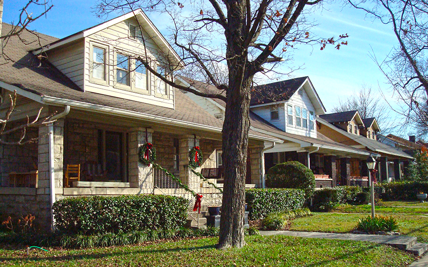 craftsman bungalows in Nashville, TN