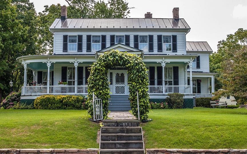 Rodgers-Buchanan Farm House, HABS
