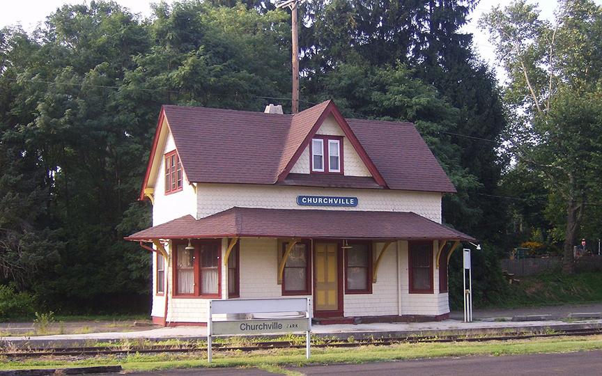 Churchville Historic District Railroad Station/Residence